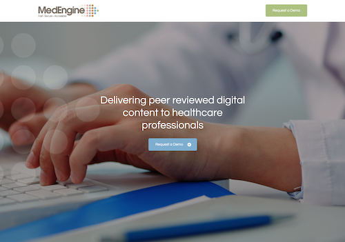 MedEngine website